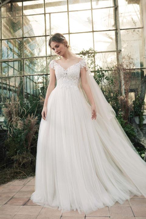 Свадебное платье Sindy, Коллекция Softness Syntagma, Anne-Mariée