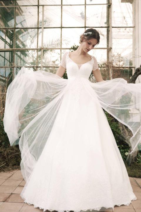 Свадебное платье Mia, Коллекция Softness Syntagma, Anne-Mariée