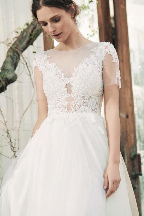 Свадебное платье Mang, Коллекция Softness Syntagma, Anne-Mariée