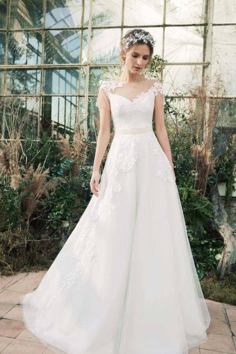 Свадебное платье Kora, Коллекция Softness Syntagma, Anne-Mariée