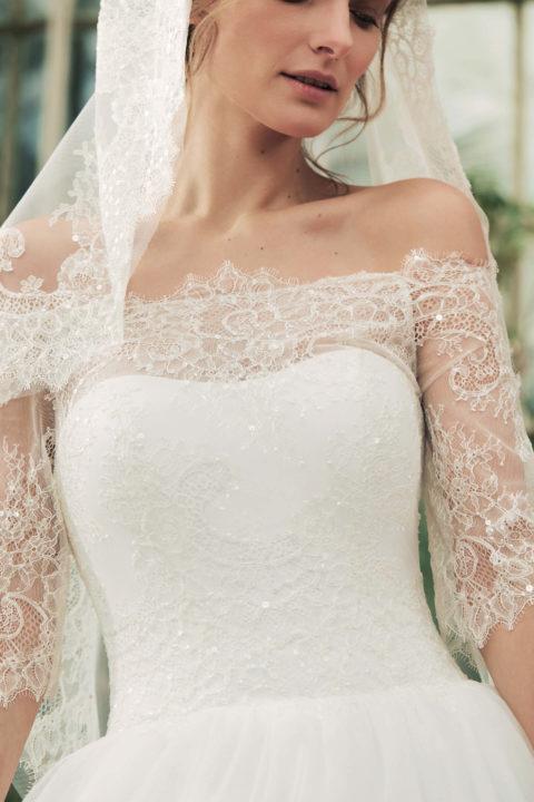 Свадебное платье Ora, Коллекция Softness Syntagma, Anne-Mariée