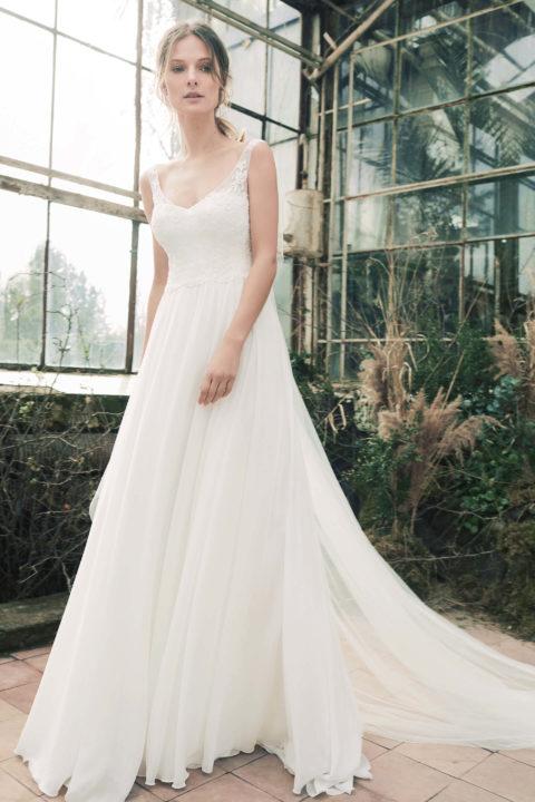 Свадебное платье Jumelia, Коллекция Softness Syntagma, Anne-Mariée