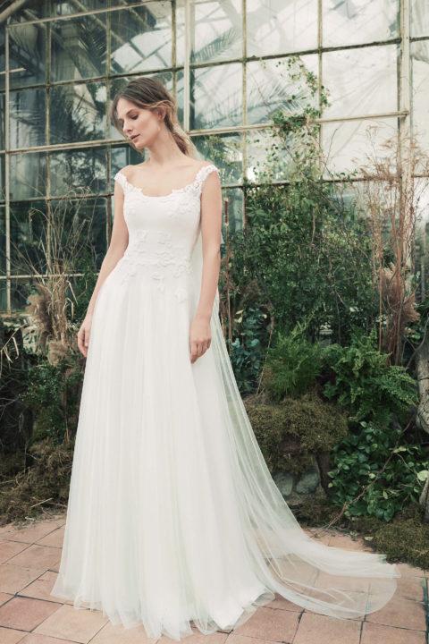 Свадебное платье Saiv, Коллекция Softness Syntagma, Anne-Mariée
