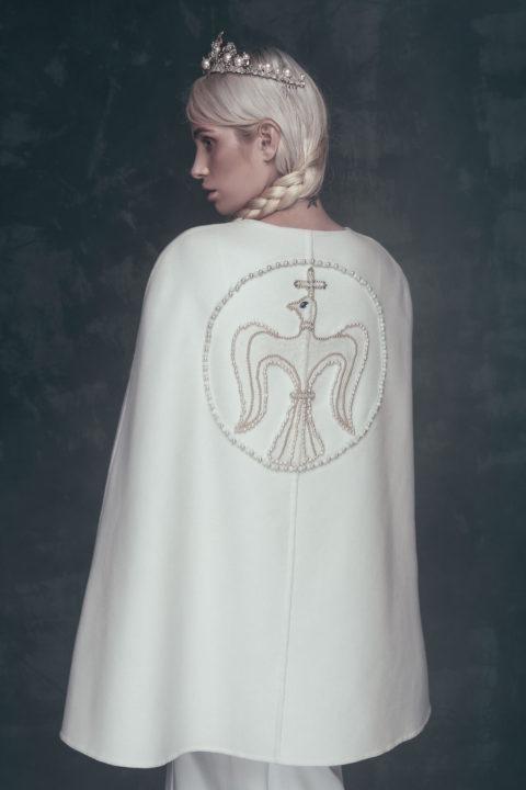 Свадебное платье Arlet (cape), Коллекция Anna de France, Anne-Mariée