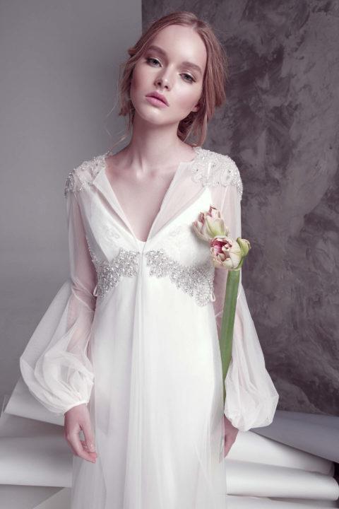 Свадебное платье Arsis (cape), Коллекция by Oksana Pravnyk, Anne-Mariée