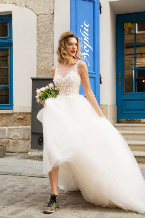 Свадебное платье Blossom, Коллекция Sensus veris, Anne-Mariée