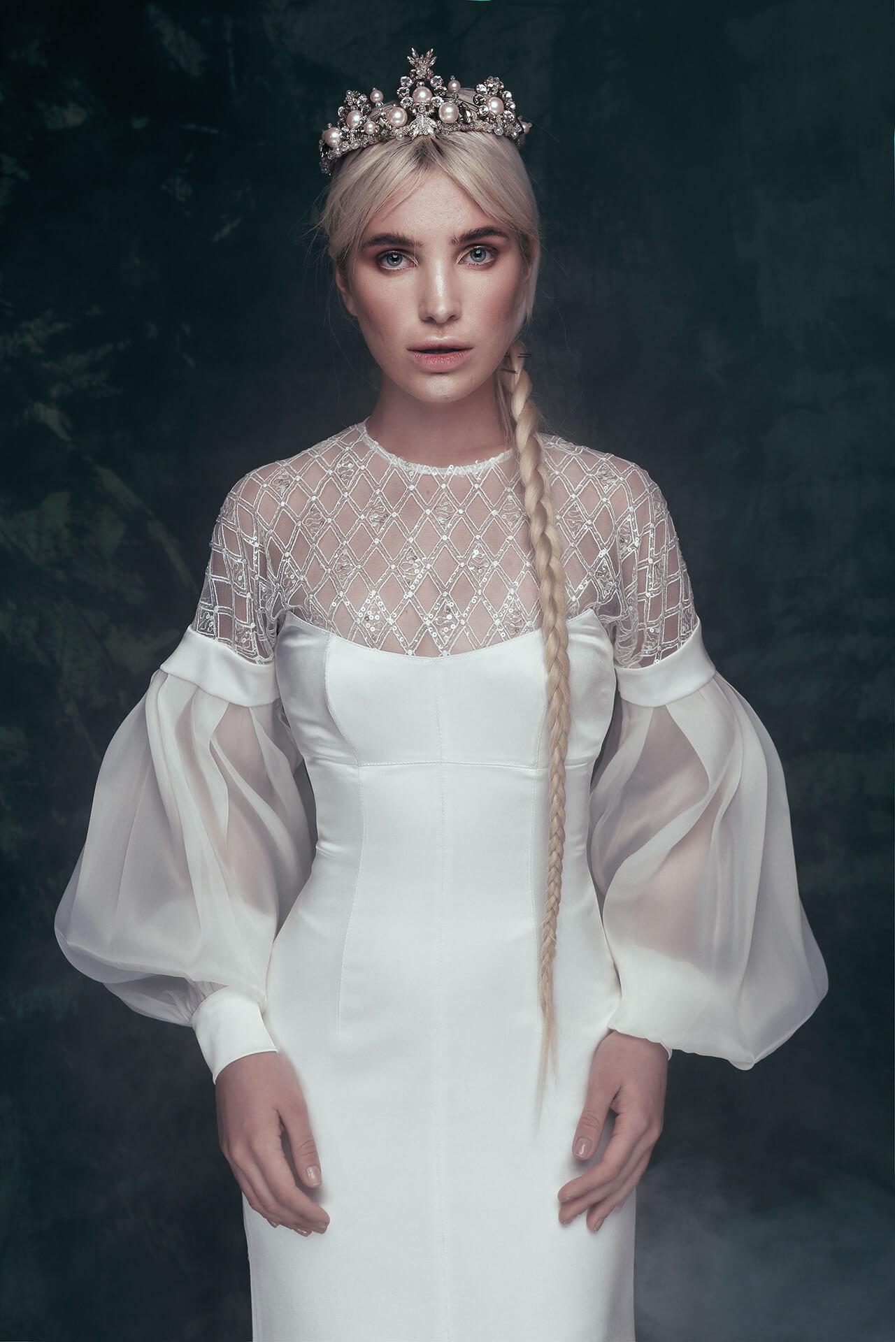 Свадебное платье Helena, Коллекция Anna de France, Anne-Mariée