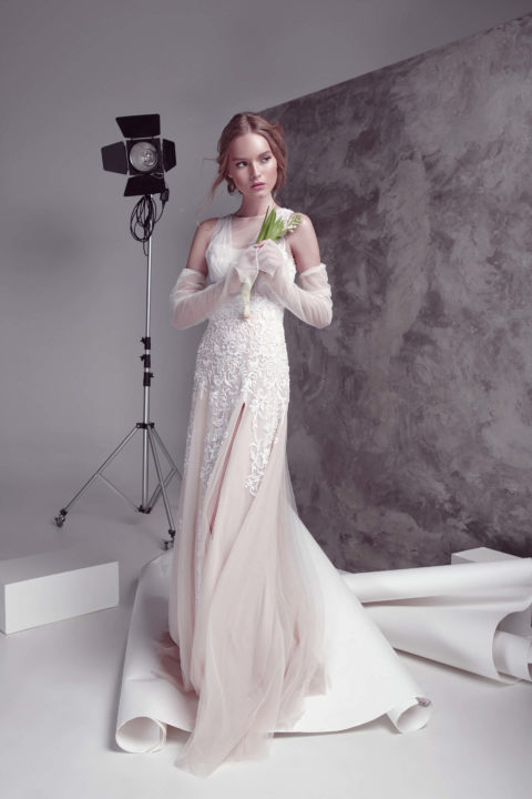 Свадебное платье Melica, Коллекция by Oksana Pravnyk, Anne-Mariée