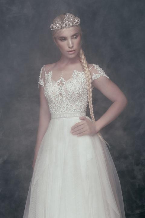 Свадебное платье Mylava, Коллекция Anna de France, Anne-Mariée