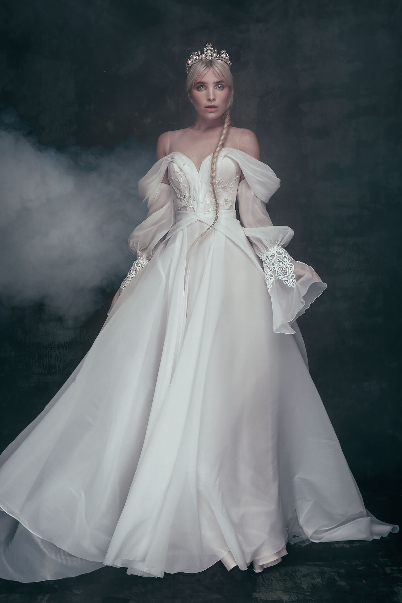 Свадебное платье Ozara, Коллекция Anna de France, Anne-Mariée