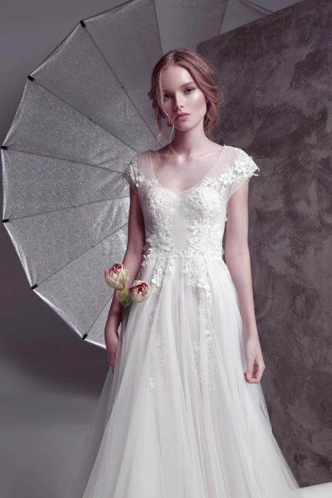 Свадебное платье Respiro, Коллекция by Oksana Pravnyk, Anne-Mariée