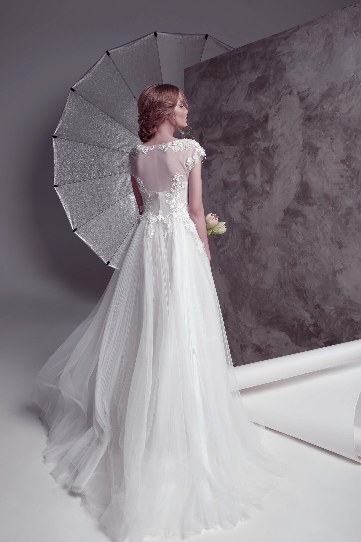 Свадебное платье Respiro (cape 3D), Коллекция by Oksana Pravnyk, Anne-Mariée