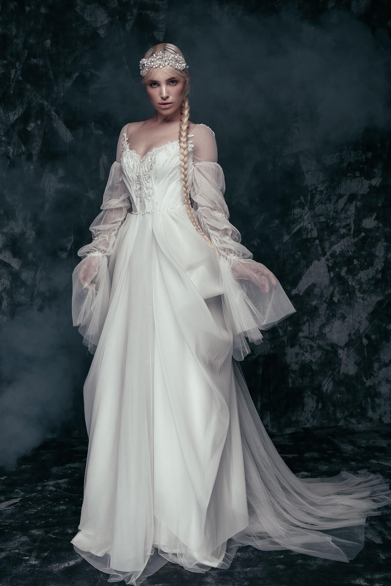 Свадебное платье Rasava, Коллекция Anna de France, Anne-Mariée