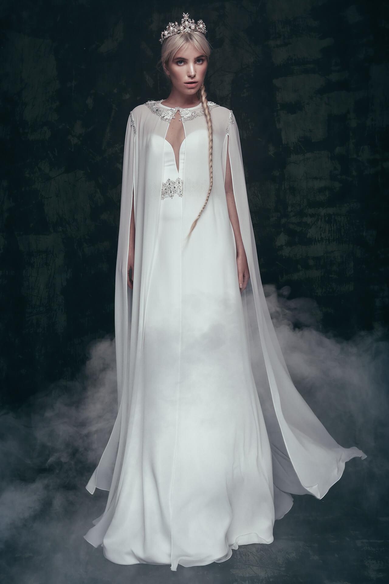 Свадебное платье Ulada накидка, Коллекция Anna de France, Anne-Mariée