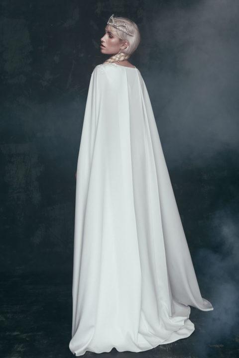 Свадебное платье Velina накидка, Коллекция Anna de France, Anne-Mariée