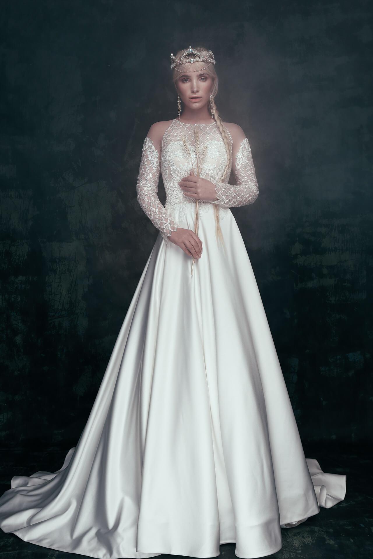 Свадебное платье Vlasta, Коллекция Anna de France, Anne-Mariée