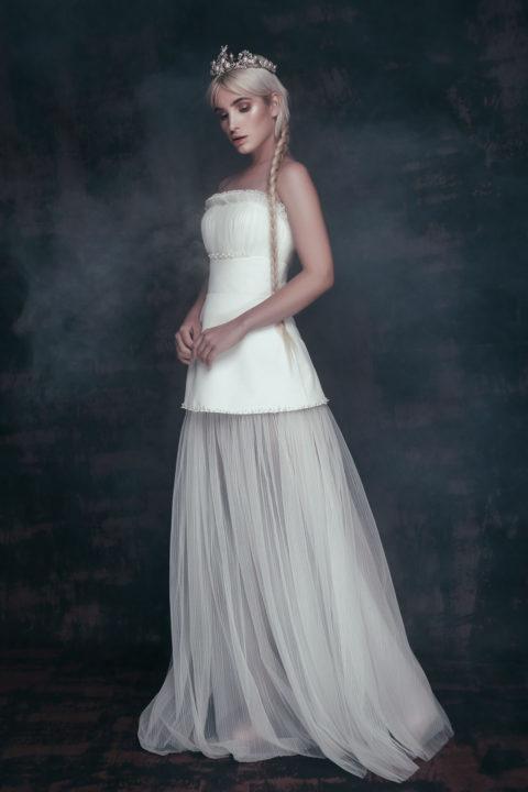 Свадебное платье Yuniia, Коллекция Anna de France, Anne-Mariée