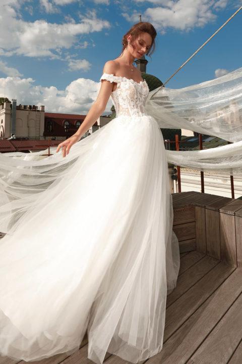 Свадебное платье Assanta, Коллекция Cloudy dreams, Anne-Mariée