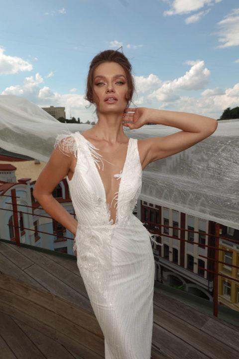 Свадебное платье Colombine, Коллекция Cloudy dreams, Anne-Mariée