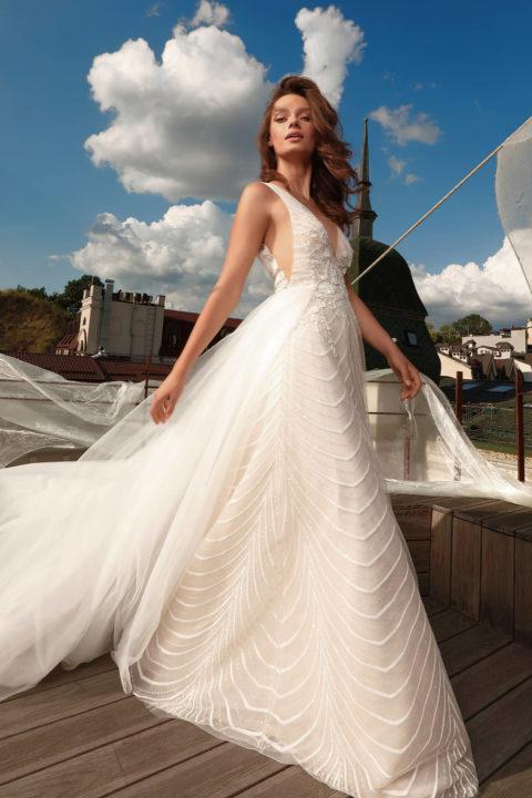 Свадебное платье Dafnis, Коллекция Cloudy dreams, Anne-Mariée