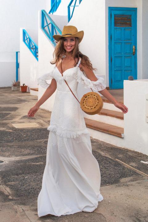 Свадебное платье Damali, Коллекция Boho, Anne-Mariée