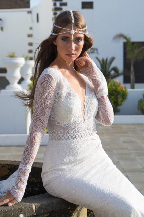 Свадебное платье Damaris, Коллекция Boho, Anne-Mariée