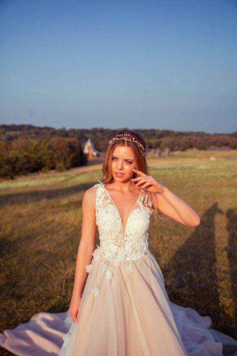 Свадебное платье Druda, Коллекция Zhiva, Anne-Mariée