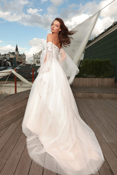 Свадебное платье Enrica, Коллекция Cloudy dreams, Anne-Mariée