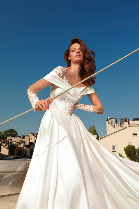 Свадебное платье Ginea, Коллекция Cloudy dreams, Anne-Mariée