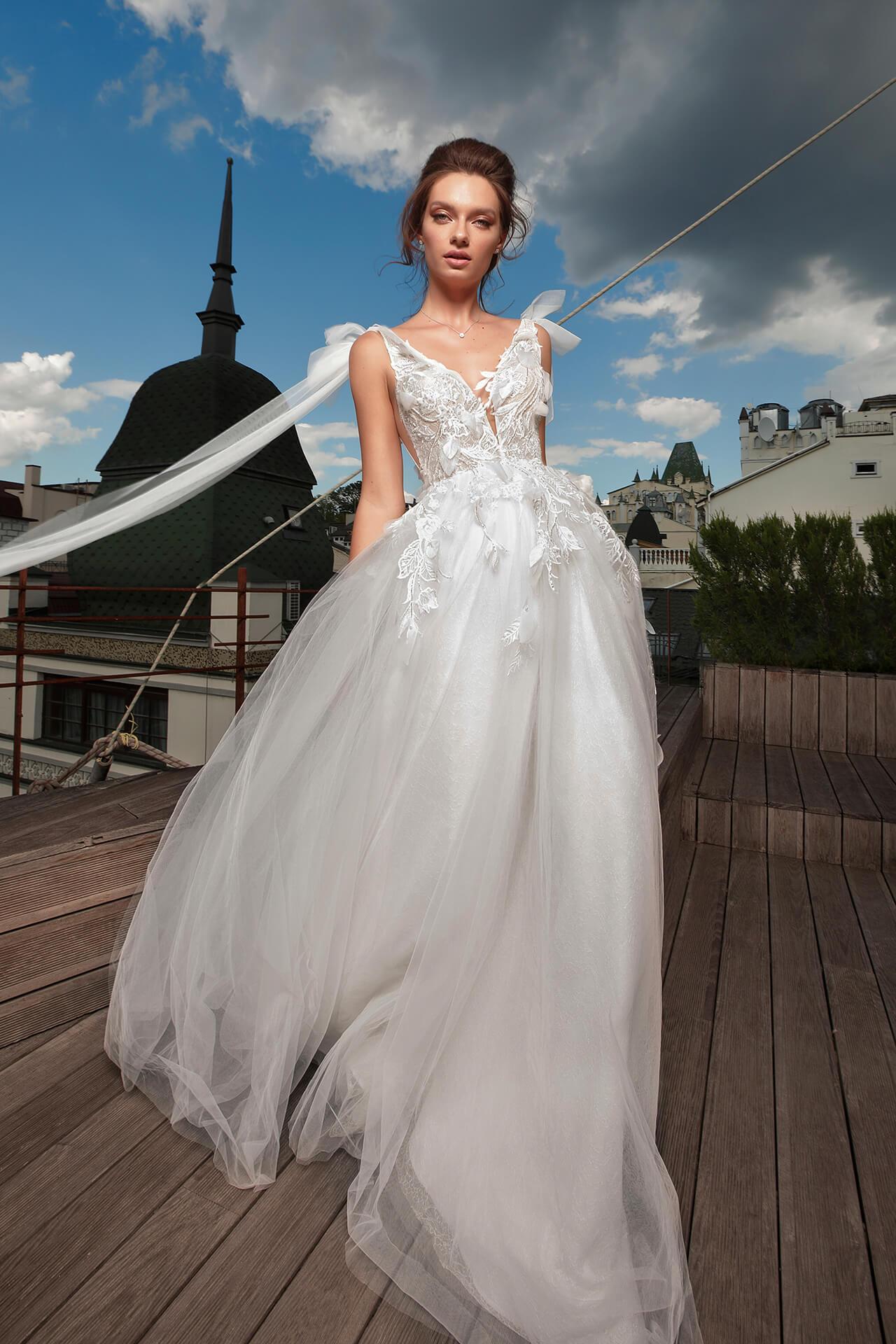 Свадебное платье Michelina, Коллекция Cloudy dreams, Anne-Mariée