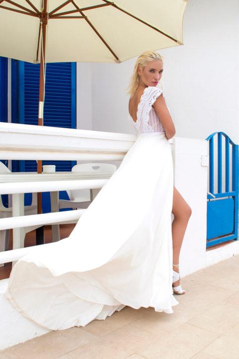 Свадебное платье Несса, Коллекция Boho, Anne-Mariée