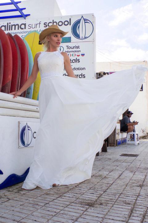 Свадебное платье Роксан, Коллекция Boho, Anne-Mariée