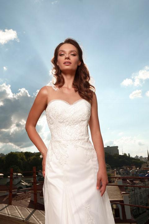 Свадебное платье Sentazza, Коллекция Cloudy dreams, Anne-Mariée
