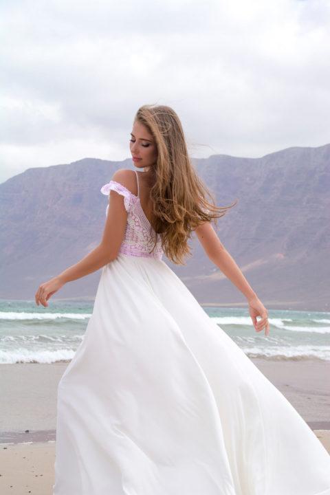 Свадебное платье Una, Коллекция Boho, Anne-Mariée