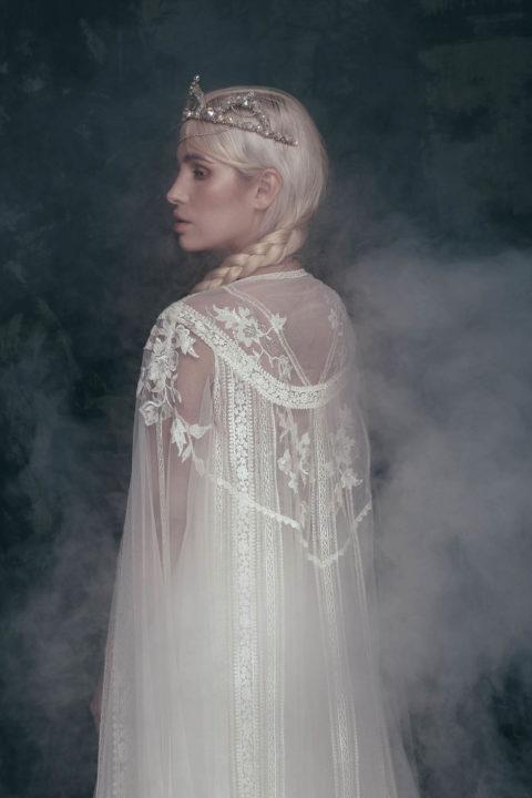 Свадебное платье Zoria накидка, Коллекция Anna de France, Anne-Mariée
