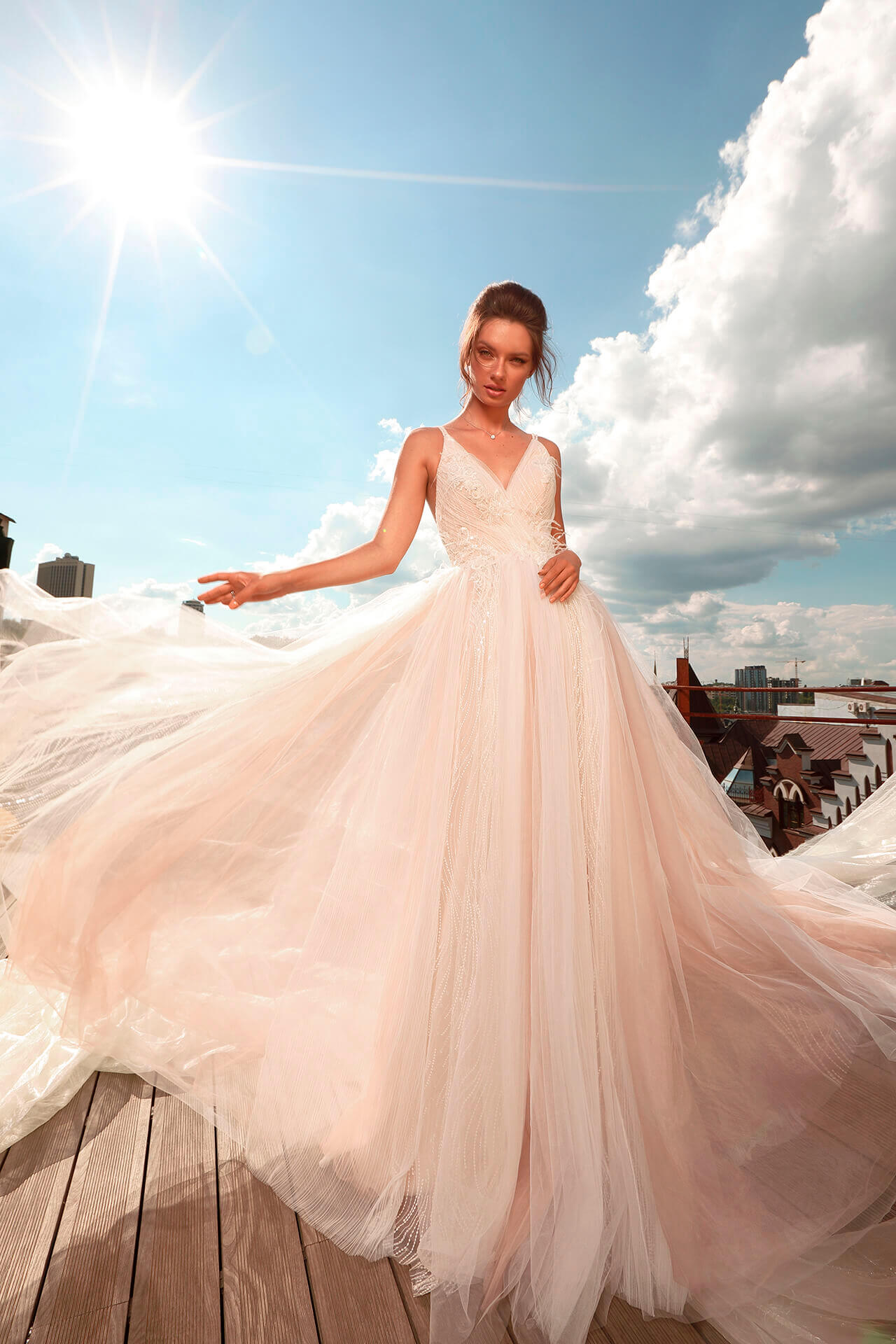 Свадебное платье Caprice, Коллекция Cloudy dreams, Anne-Mariée