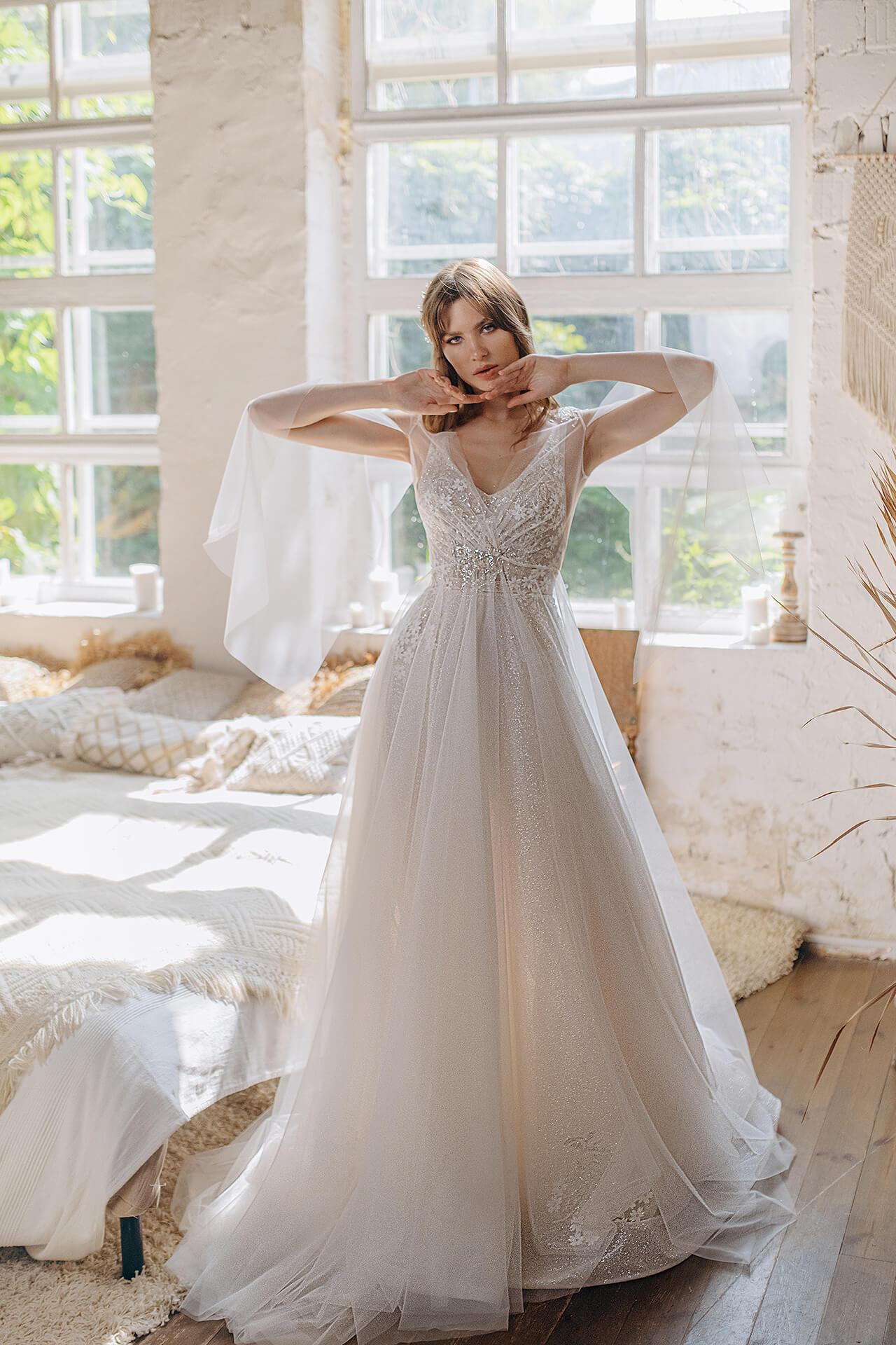 Свадебное платье Элиан, Коллекция Laurette, Anne-Mariée
