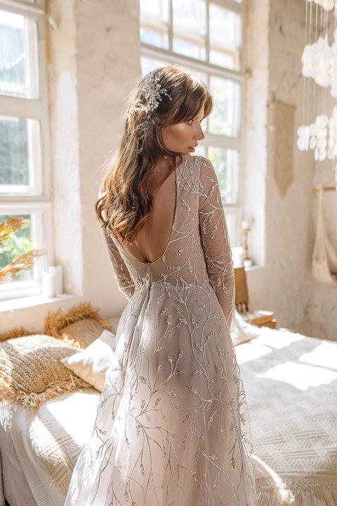 Свадебное платье Жакина, Коллекция Laurette, Anne-Mariée