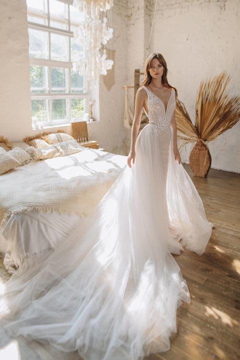 Свадебное платье Катэль, Коллекция Laurette, Anne-Mariée