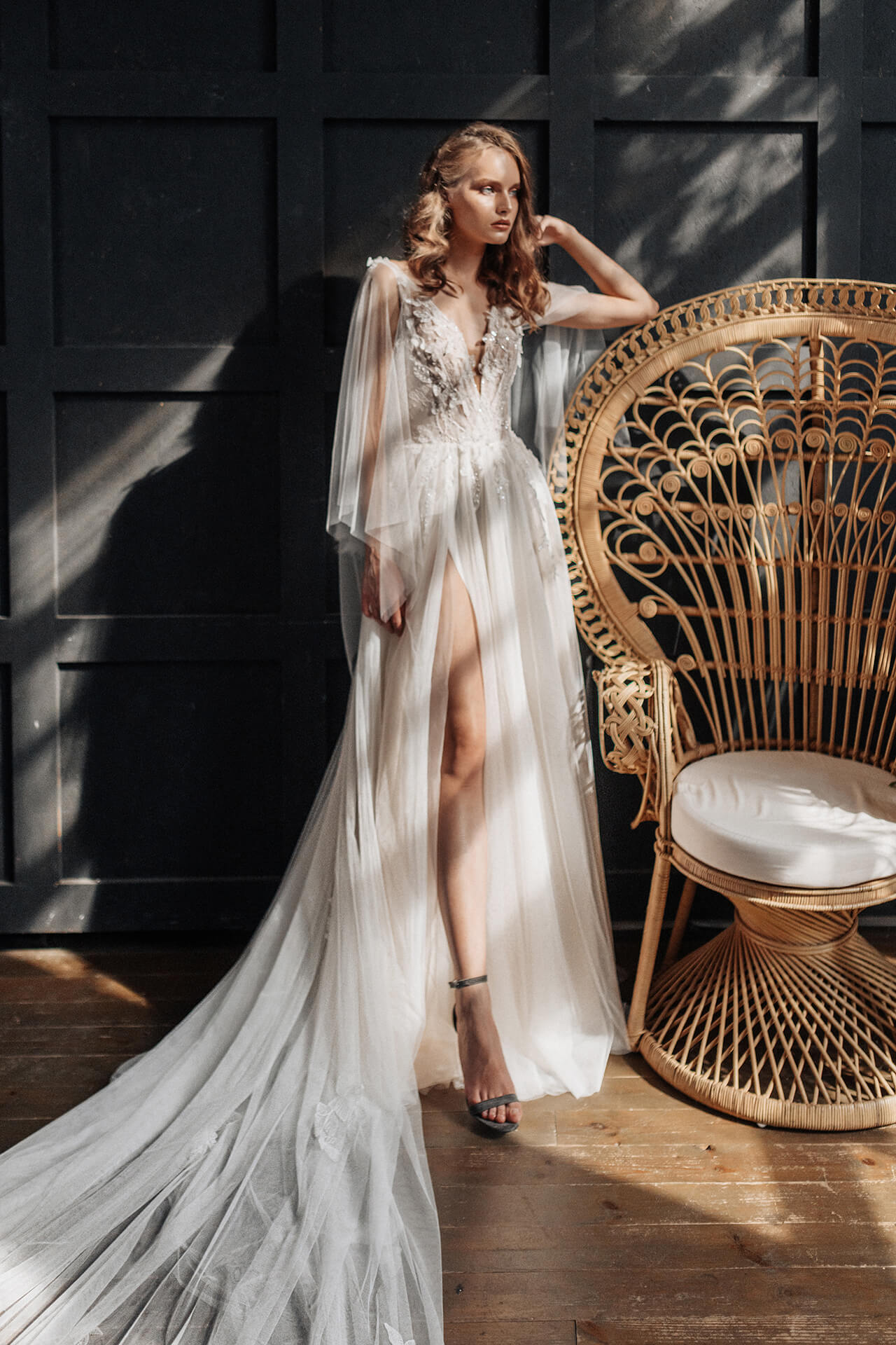 Свадебное платье Люсьен, Коллекция Laurette, Anne-Mariée