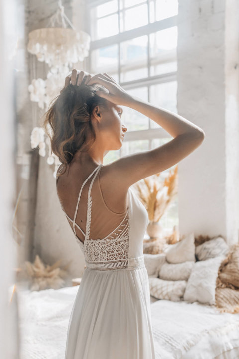 Свадебное платье Нюма, Коллекция Laurette, Anne-Mariée