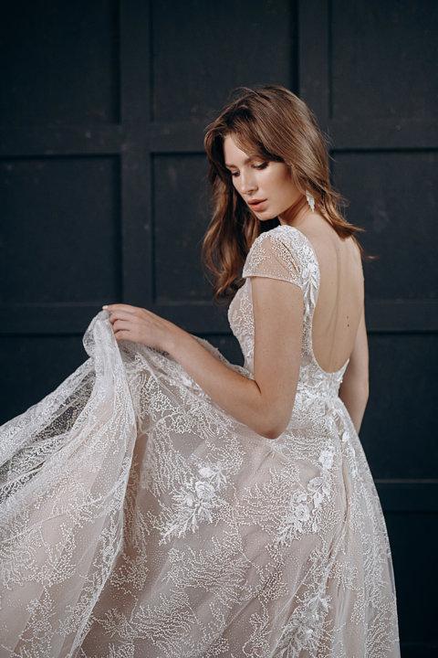 Свадебное платье Юстин, Коллекция Laurette, Anne-Mariée