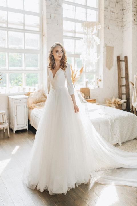 Свадебное платье Yumber, Коллекция Laurette, Anne-Mariée