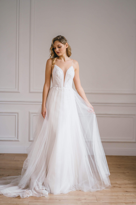 Свадебное платье Gwenet, Коллекция Amaryllis 20/21, Anne-Mariée
