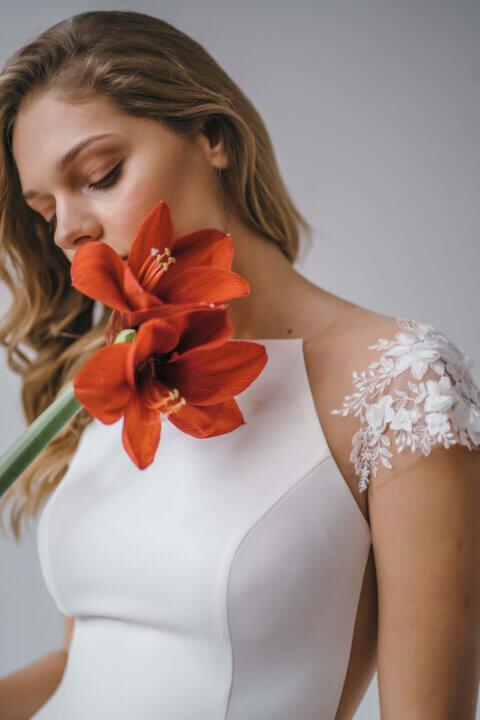 Свадебное платье Hether, Коллекция Amaryllis 20/21, Anne-Mariée