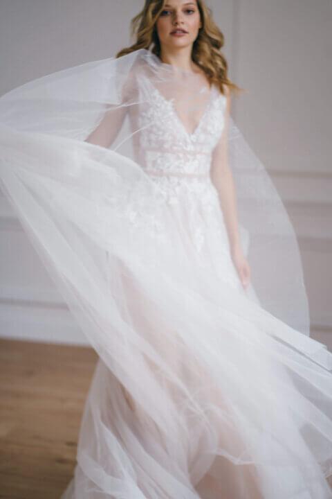 Свадебное платье Leslie, Коллекция Amaryllis 20/21, Anne-Mariée