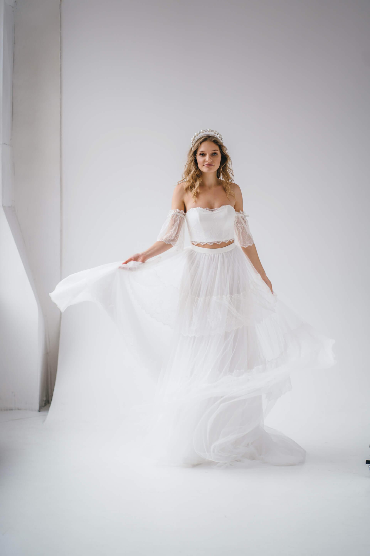 Свадебное платье Selena, Коллекция Amaryllis 20/21, Anne-Mariée
