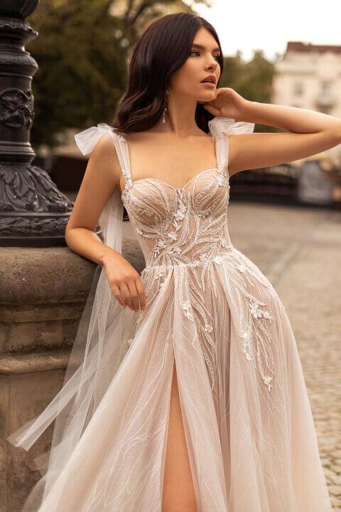 Свадебное платье Лунет, Коллекция Marcella, Anne-Mariée