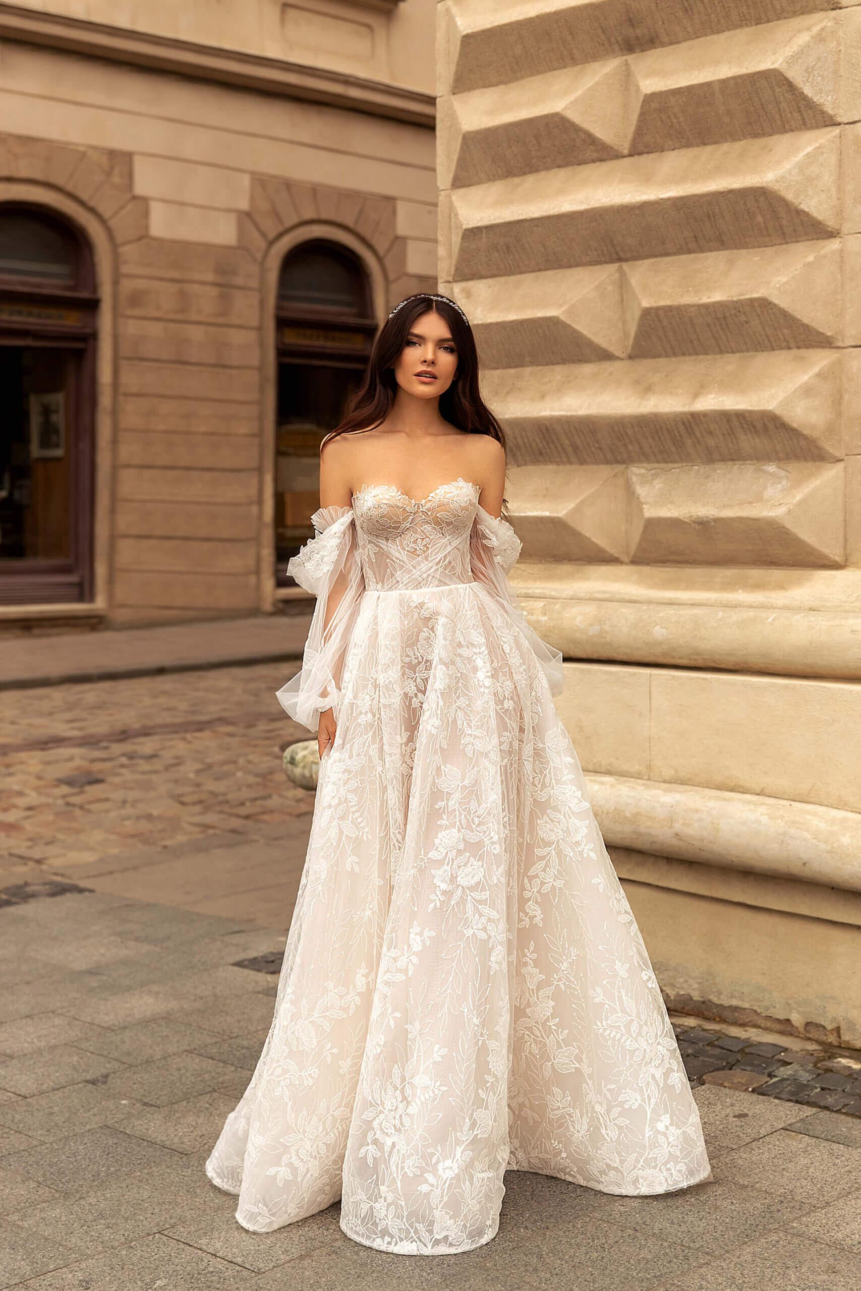 Свадебное платье Мариз, Коллекция Marcella, Anne-Mariée