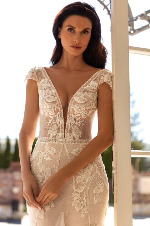 Свадебное платье Alexia, Коллекция Elodie 2022, Anne-Mariée